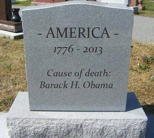 America's Tombstone...