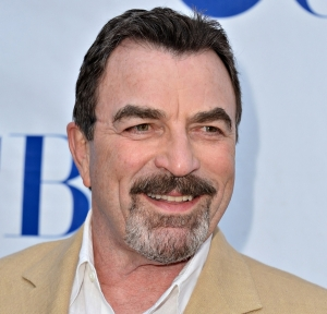 """NORTH HOLLYWOOD, CA - JUNE 05:  Actor Tom Selleck arrives to a screening and panel discussion of CBS's """"Blue Bloods"""" at Leonard H. Goldenson Theatre on June 5, 2012 in North Hollywood, California.  (Photo by Alberto E. Rodriguez/Getty Images)"""